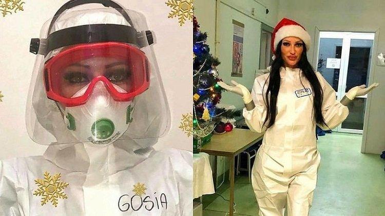 """Małgorzata Godlewska odwołuje kolędowanie: """"W tym roku coviduję z pacjentami"""""""