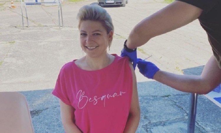 Magdalena Narożna przyjęła szczepionkę. Ostra reakcja fanów